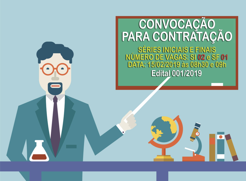 Convocação para Contratação - Séries Iniciais e Finais