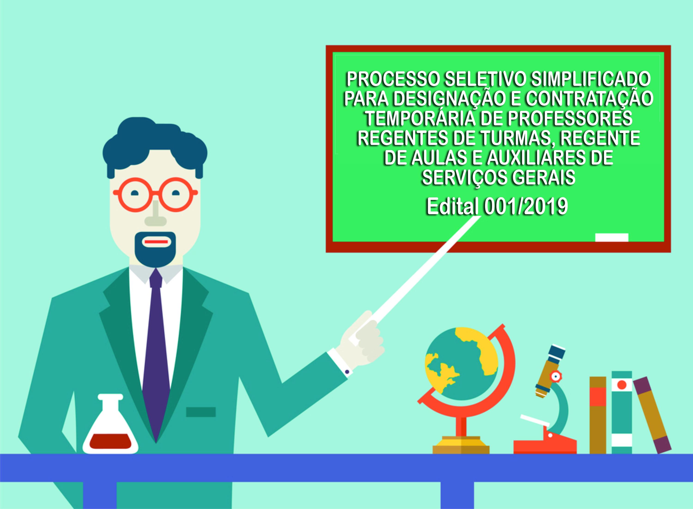 Edital Designação e Contratação Temporária